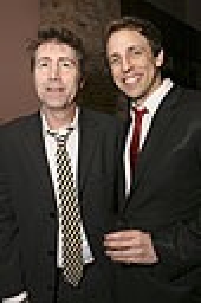 Press photos with Seth Meyers at the premiere of SEE THIS MOVIE