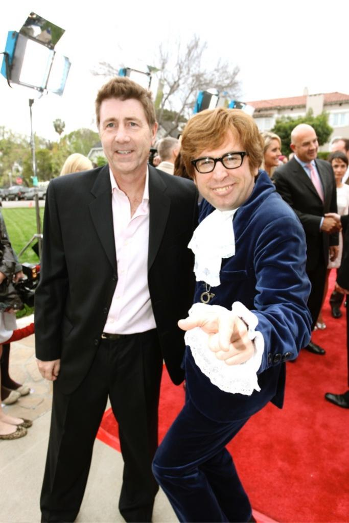 BritWeek opening night with Austin Powers