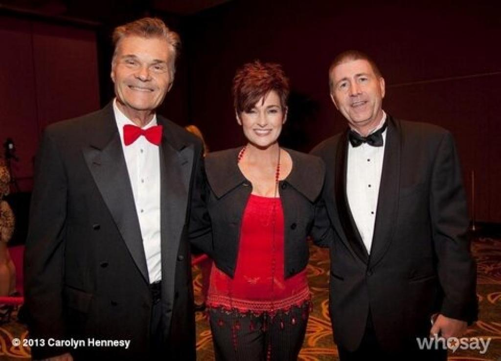 Charity event with Fred Willard